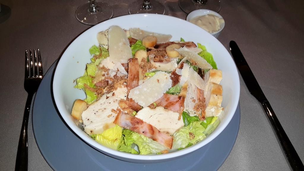 Salade Caesar de Ceasar Cardini