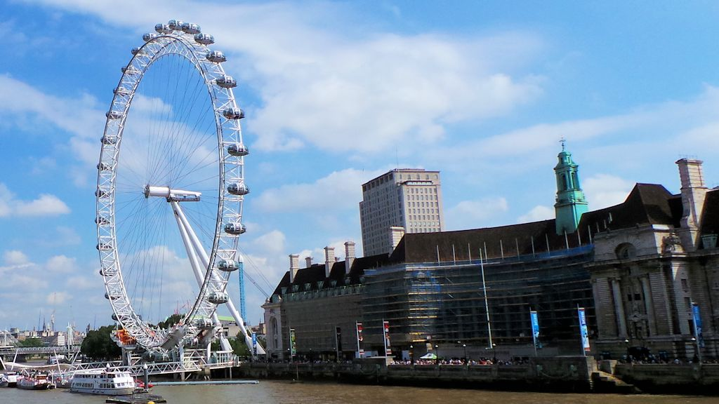 London Eye et County Hall