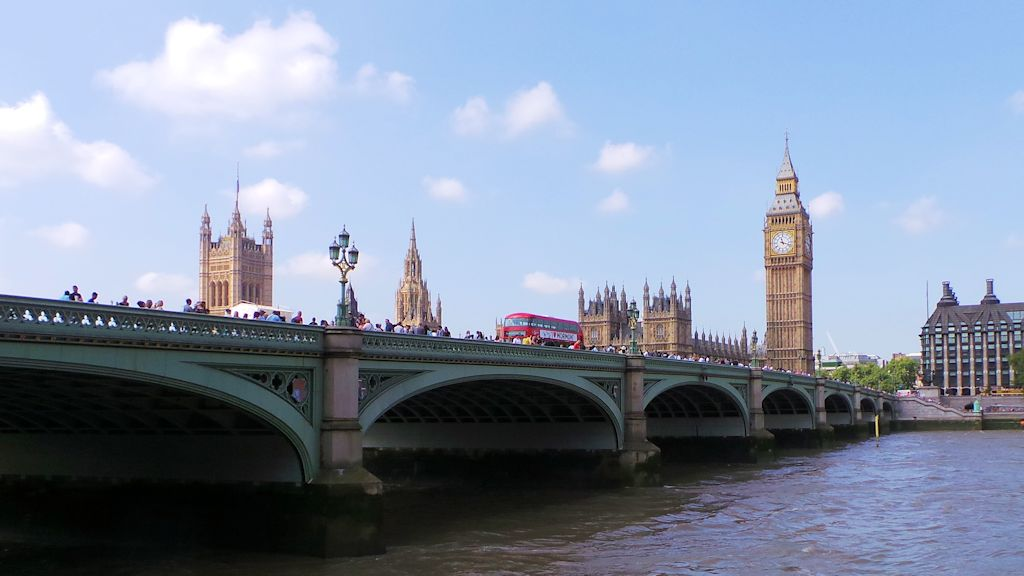 Westminter Bridge et Big Ben