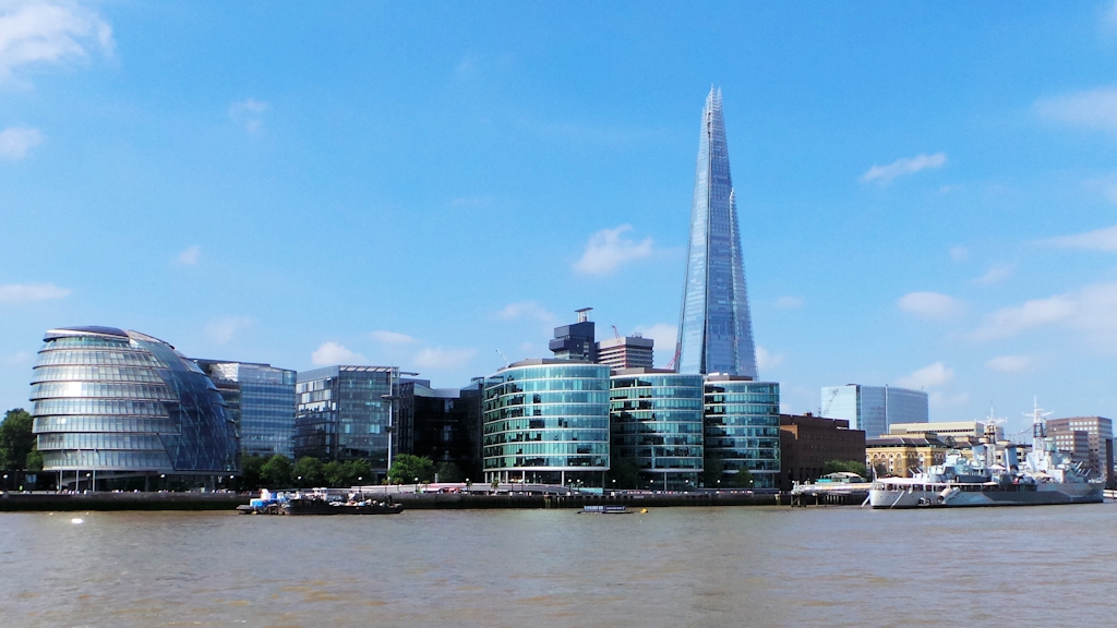 London Bridge City et The Shard