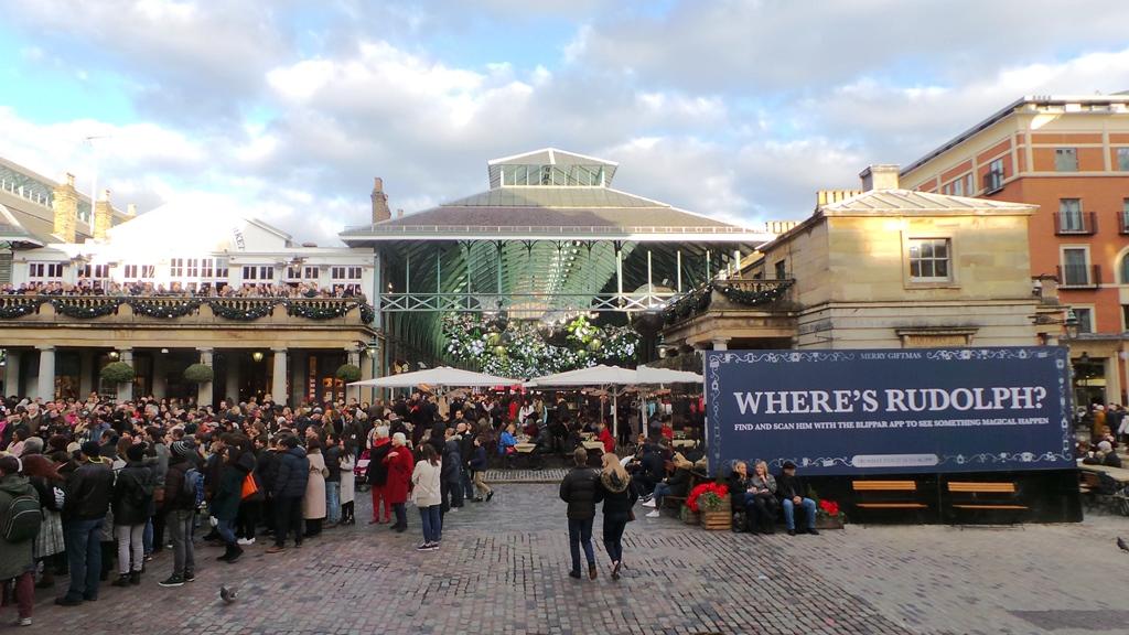 Marché de Noël à Londres : Covent Garden
