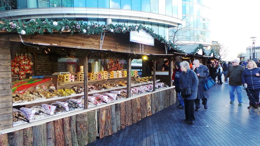 Marché de Noël à Londres : London City Bridge