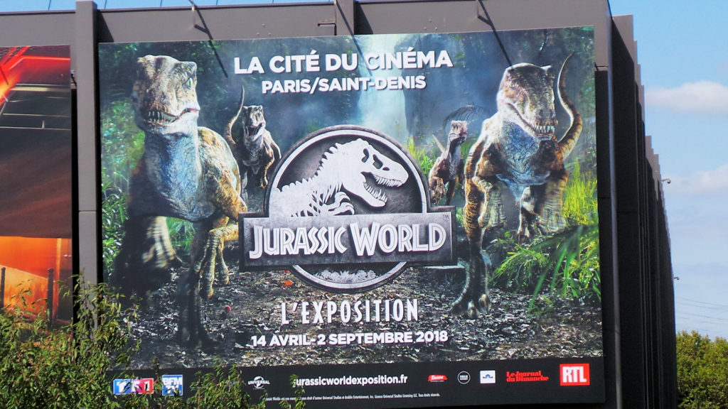 Affiche Exposition Jurassic World