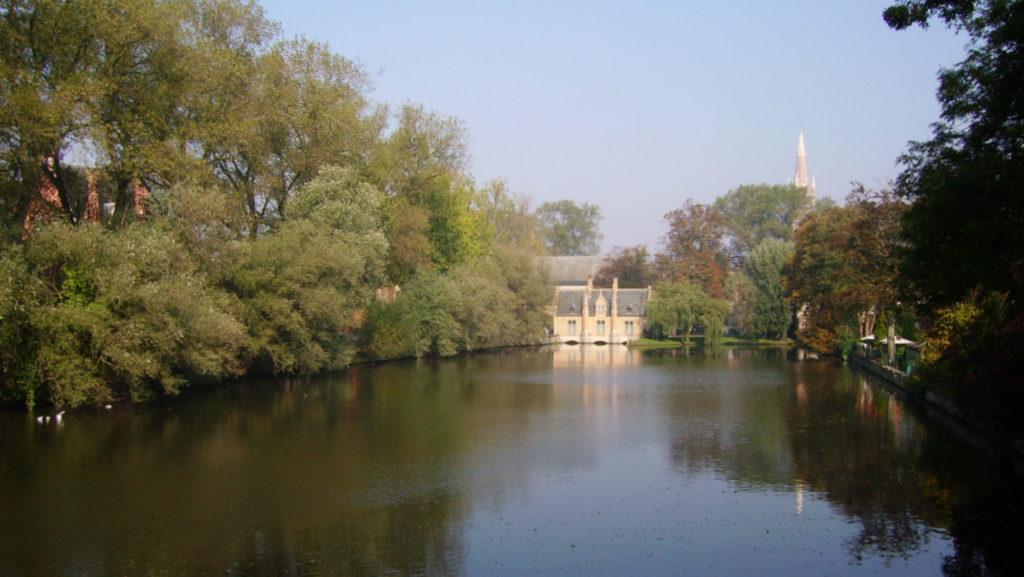 Le lac d'Amour à Bruges