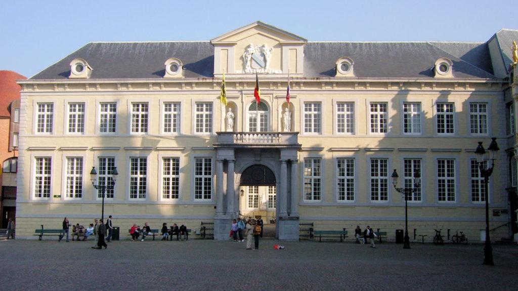 L'ancien tribunal de Bruges