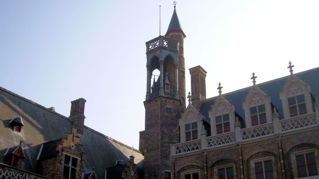 Palais Gruthuse à Bruges.