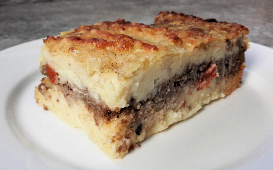 Hachis Parmentier facile au bœuf et au chorizo