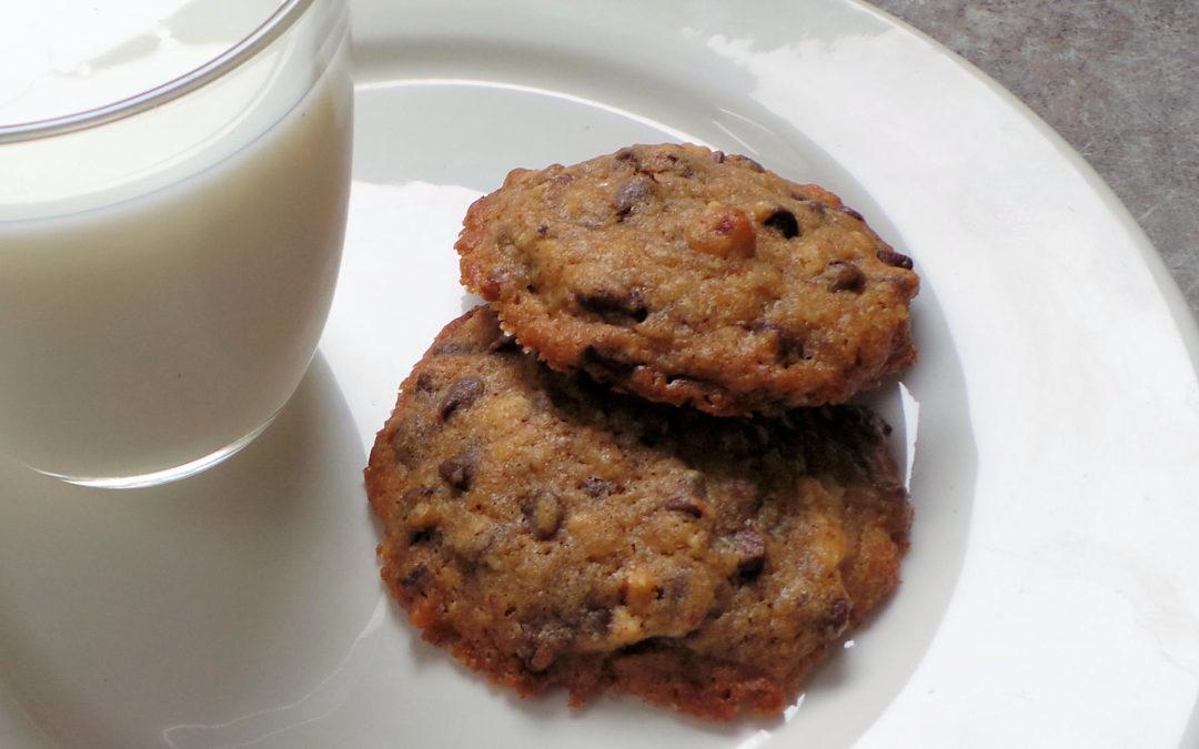 La presque vraie recette des cookies aux pépites de chocolat
