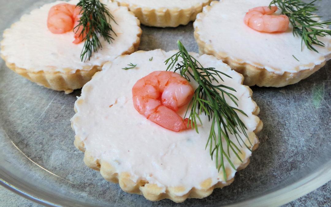 Tartelette mousse de saumon