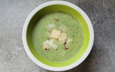 Soupe de cresson et persil