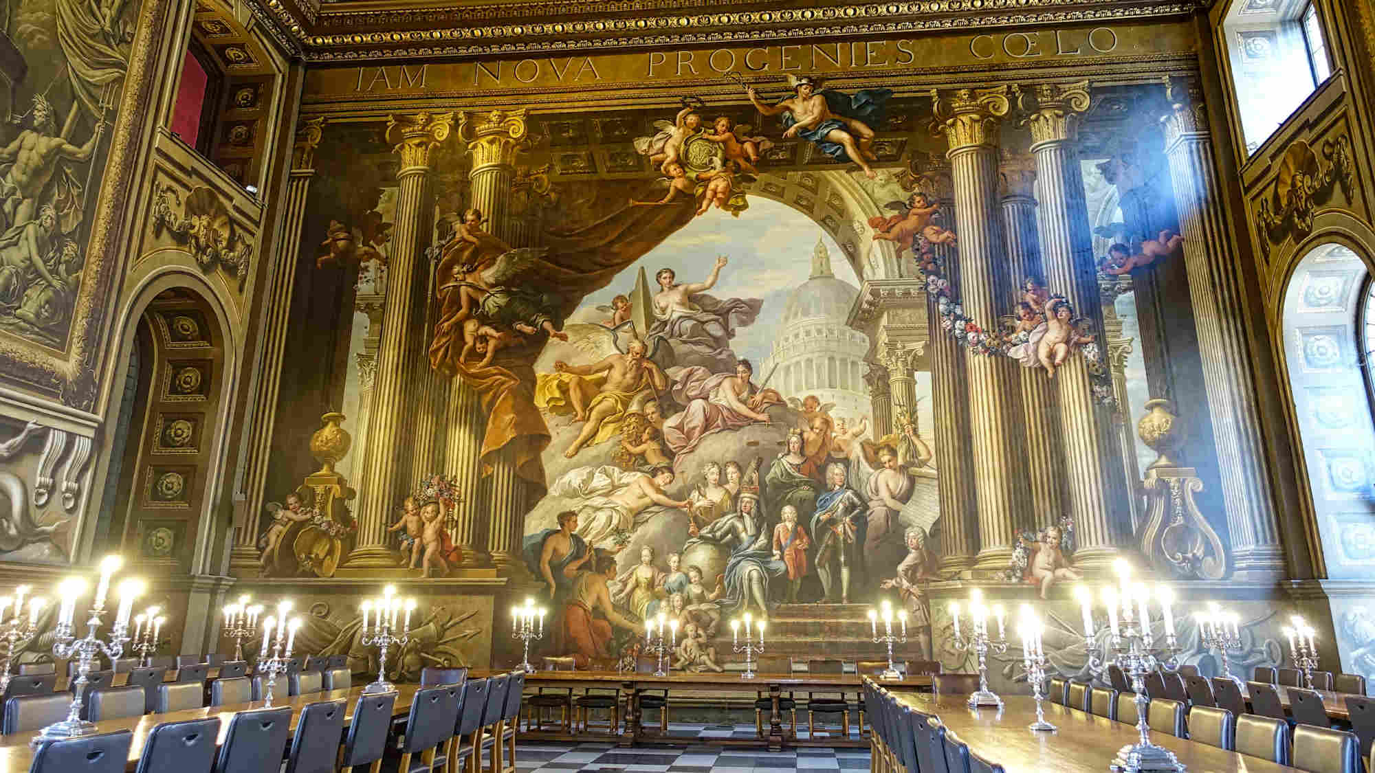 Painted Hall Old Royal Naval College Greenwich