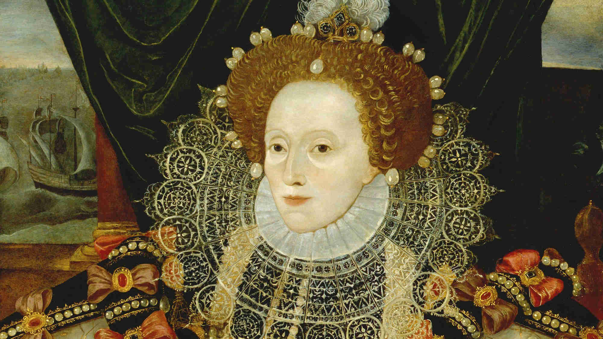 The Armada Portrait - Queen's House Greenwich