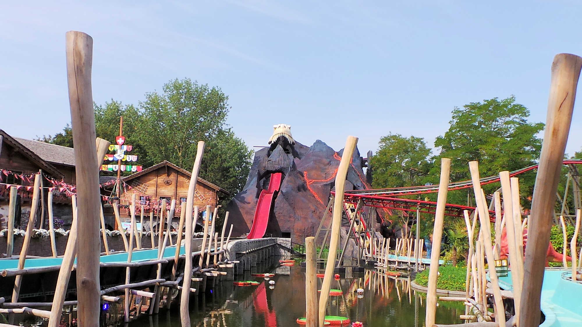 Dino splash : Nouveau à Plopsaland La Panne en 2019