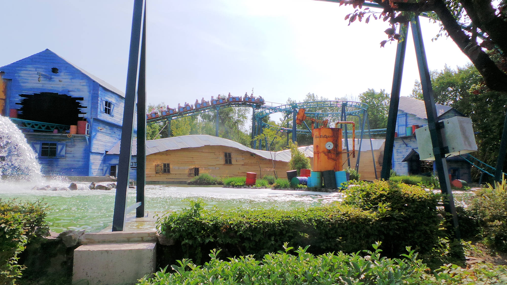 Parc Bagatelle Gaz Express