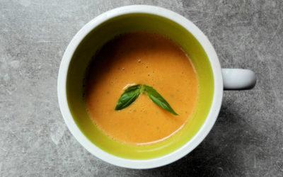 Soupe aux poivrons et Boursin