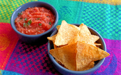 Sauce mexicaine maison : la vraie salsa roja mexicana